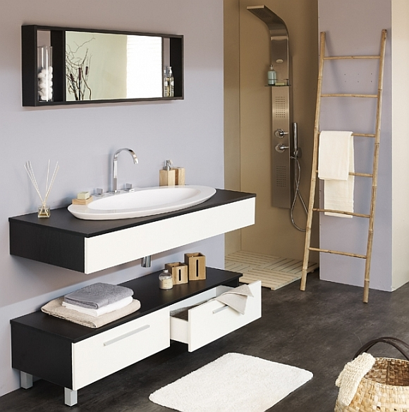 meubler et am nager totalement sa salle de bains soi m me meuble. Black Bedroom Furniture Sets. Home Design Ideas