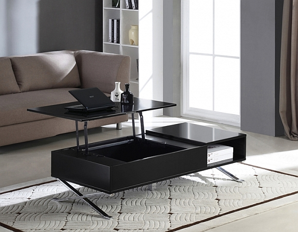 table basse relevable depliante. Black Bedroom Furniture Sets. Home Design Ideas