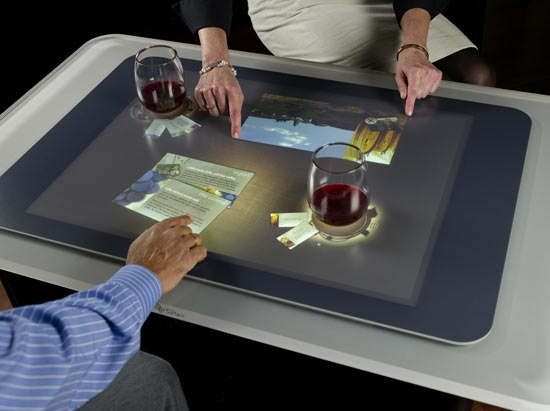La table écran Surface de Miscrosoft