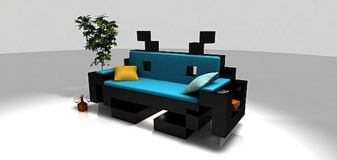les meubles geek meuble. Black Bedroom Furniture Sets. Home Design Ideas