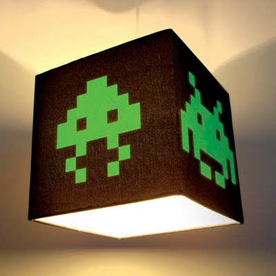 lampe space invaders
